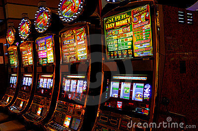 Slot Machines Editorial Photography