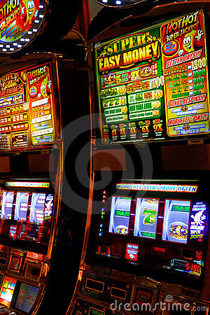 Slot Machines Editorial Photo