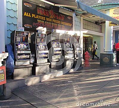 Slot Machines Editorial Image