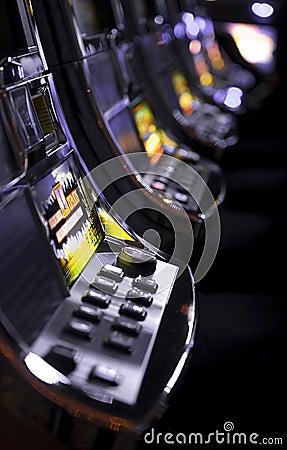 Free Slot Machines Stock Image - 8233291
