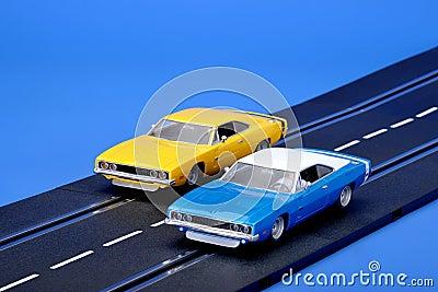 Slot racing cars