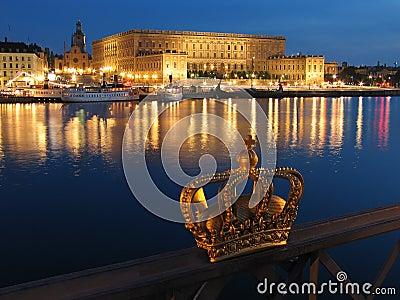 Slottkunglig person stockholm