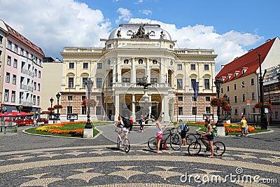 Slovakia - Bratislava Editorial Photography
