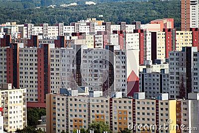 Slovakia, Bratislava, residential buildings
