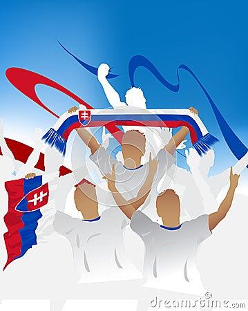 Slovakia crowd