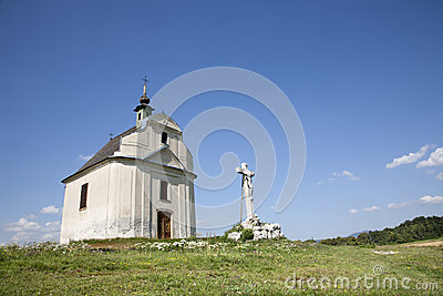 Slovakia - Holy cross baroque chapel from Spis