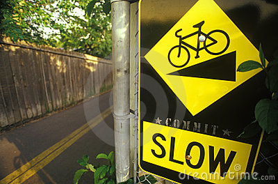 Slow Down Bicycle Safety