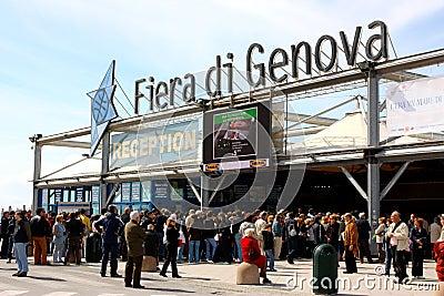 Slow Fish 2009, Genoa, Italy Editorial Image