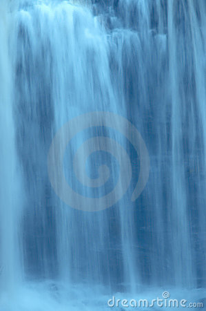 Slow Motion Waterfall