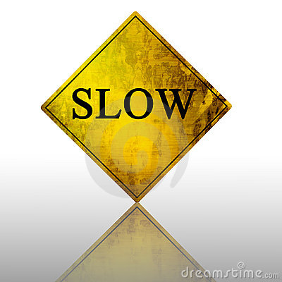Free Slow Sign Royalty Free Stock Photos - 4405548