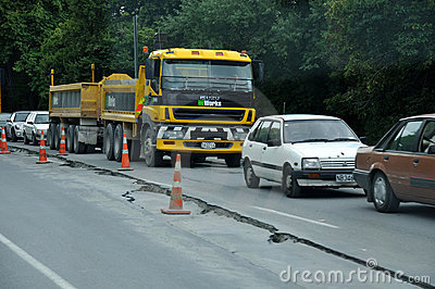 Slow traffic Editorial Image