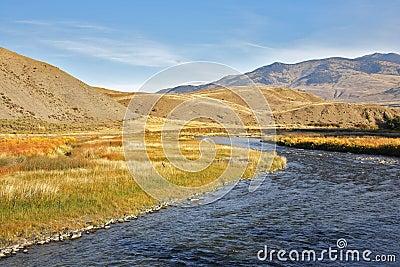 Slow watercourse