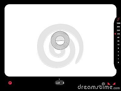 SLR viewfinder
