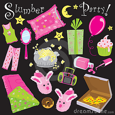 Free Slumber Party! Stock Photos - 11687073