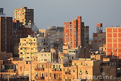 The slums of Alexandria