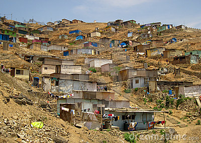 Slums, South America Royalty Free Stock Photography - Image: 13642807