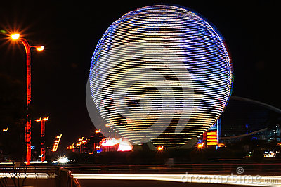SM Mall of Asia (MOA) Globe Editorial Photography