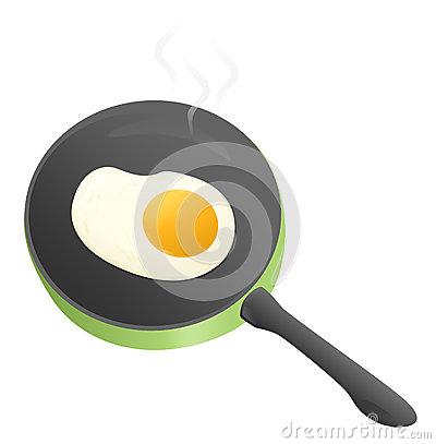 Smażący jajka