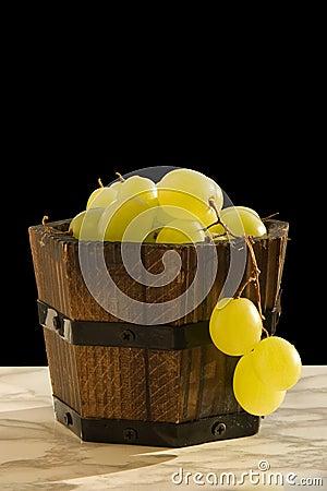 Smal barrel of grape