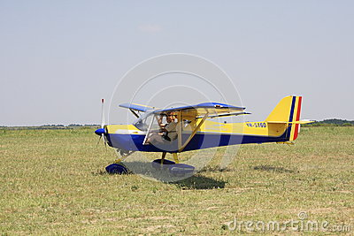 Small airplane Editorial Photography