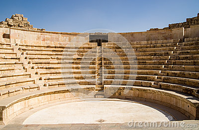 Small amphitheatre in Amman
