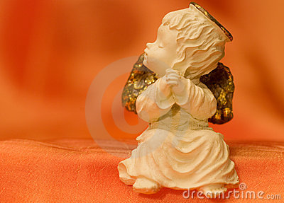 Small angel figurine