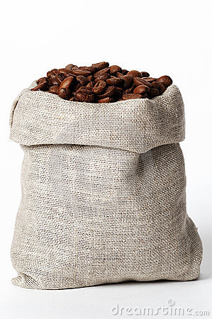 Free Small Bag Of Coffee 2 Stock Photography - 1709462