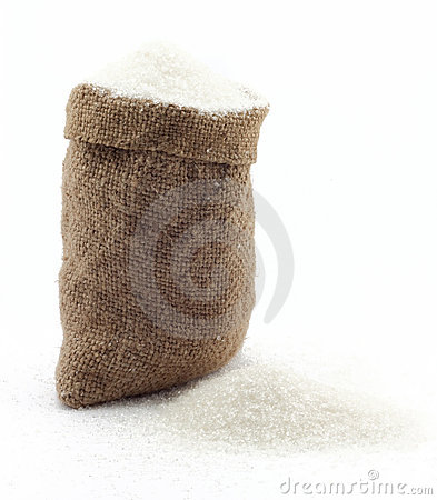 Small bag of sugar