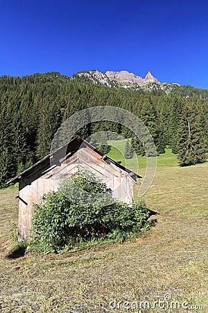 Small barn in Val di Fassa