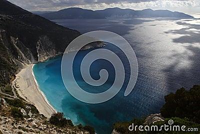 Small bay on the broken coast