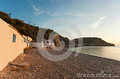 Small bay in Javea