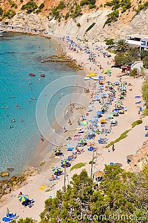 Small beach at Ibiza, Spain