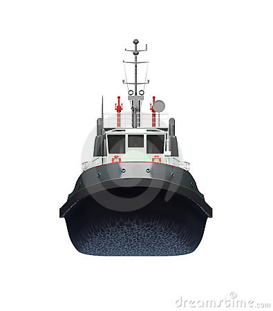 Free Small Boat Front View Royalty Free Stock Images - 6252649