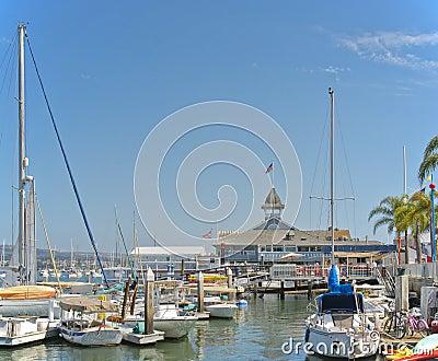 Small Boat Harbor, Newport Beach, California