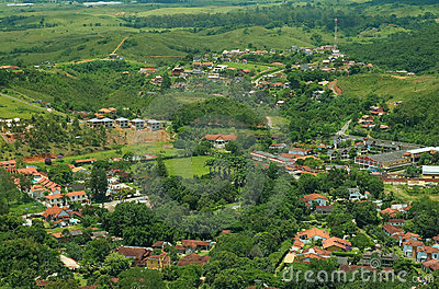 small brazilian country town stock photos image 1924613