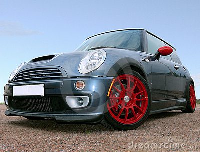 Small British Race Car