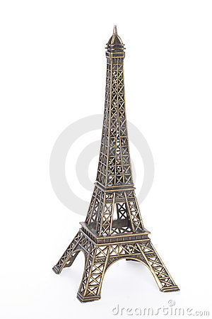 Small bronze copy of Eiffel