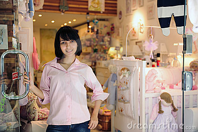 Small business owner: baby store