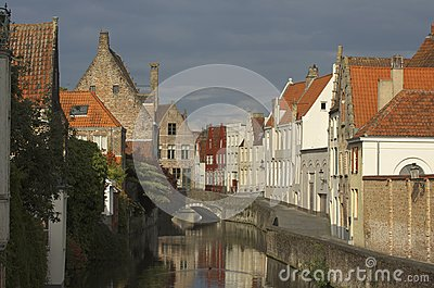 Small Canal in Bruges