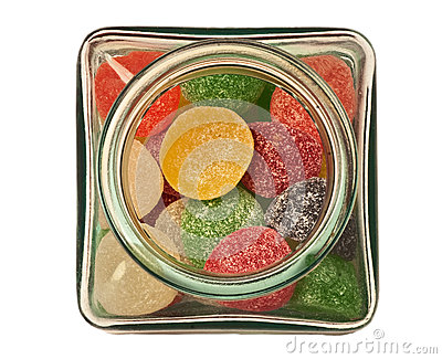 Small candy jar