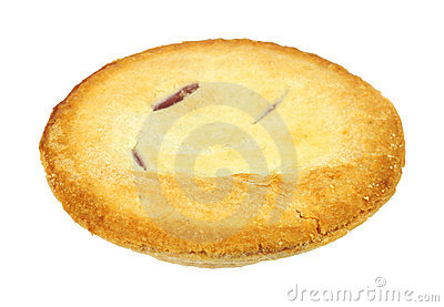 Small cherry pie