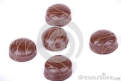 Small chocolate cakes 4