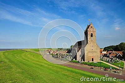 Small church in a little village called Wierum