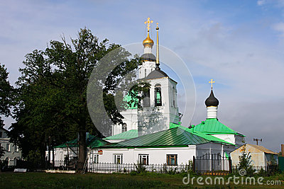Small church in Vladimir