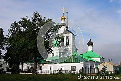 Small church in Vladimir