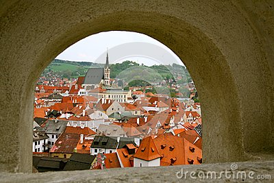 Small city of the Czech Republic