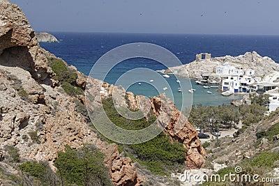 Small coastal village