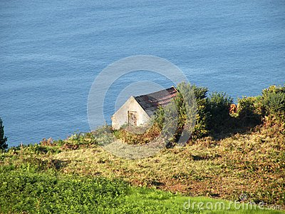 Small cottage near the sea