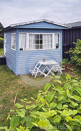 Small cottage near the seaside,