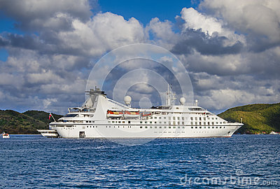 Small Cruise Ship Stock Photo  Image 50376831